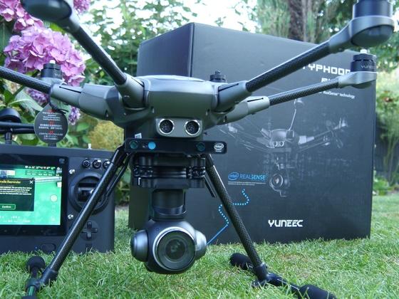 Yuneec - Typhoon H Plus mit RealSense Technologie