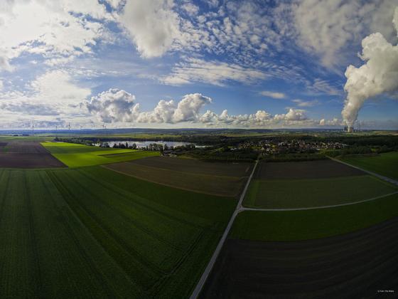 Panorama Nähe Indemann und Lucherberg