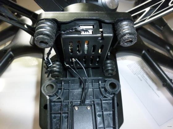 YUNEEC Kabelverbindung zur Kamera (3 Kabel wohin-)_5