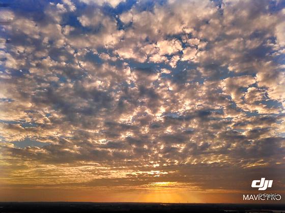 Sonne und Wolken - Mavic Test