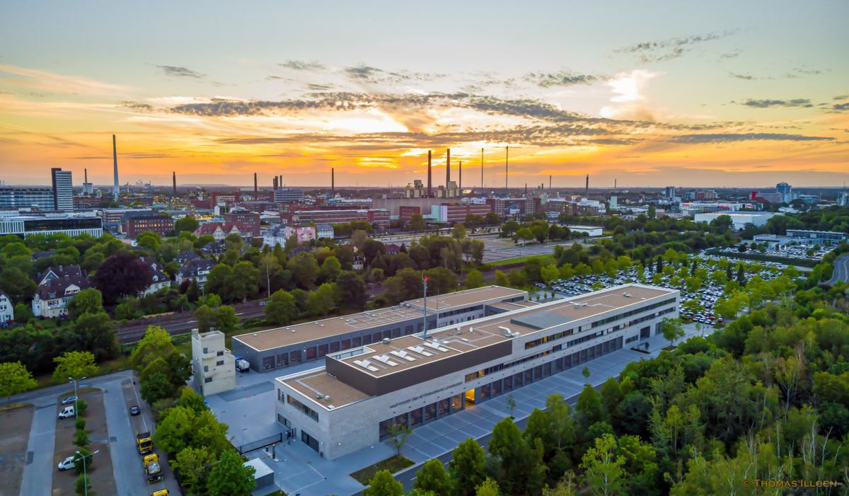 Neue Hauptfeuer- und Rettungswache Leverkusen