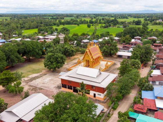 EIn Dorf im Isaan, Thailand