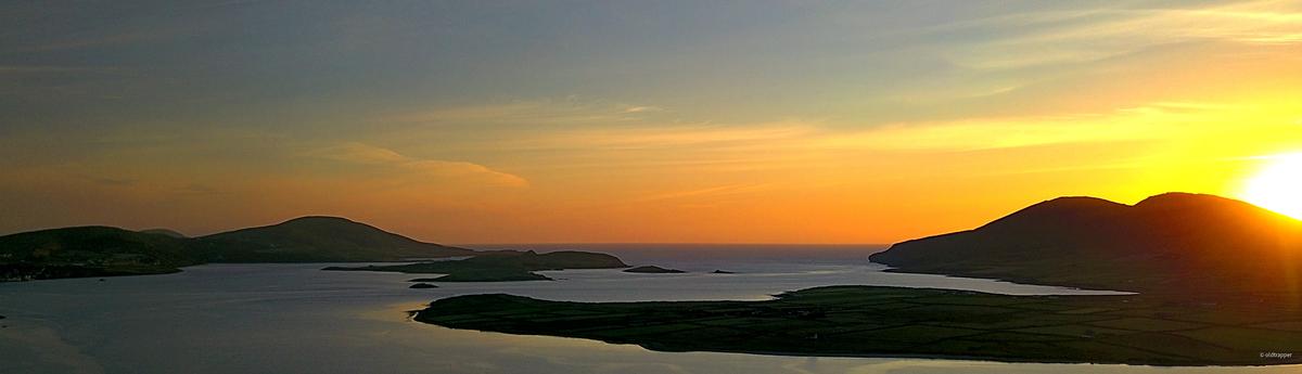 Irland Südwestküste, MannixPoint Camping, Fotografiert mit DJI Mavic, CPL, 3 Einzelbilder mit Litchi im Panomode, gestitcht mit Panotools (hugin)