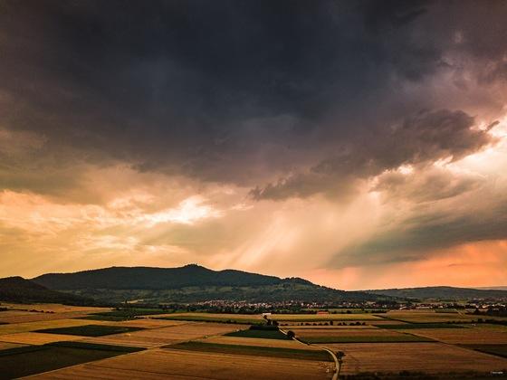 Sturm am Abend