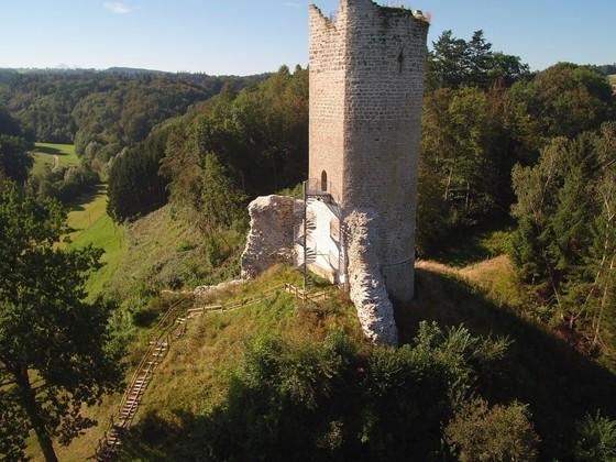 Ruine Montagny, Kanton Fribourg