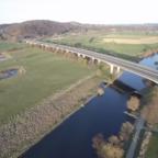 #Luftbild  Kosterbrücke