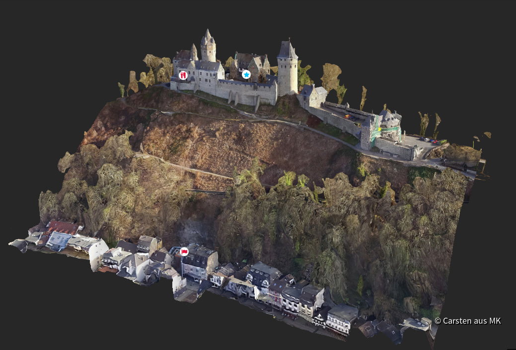 Burg Altena in 3D