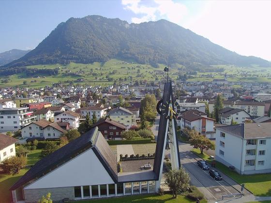 Ref. Kirche Buochs Nidwalden Schweiz