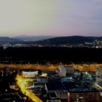 Sonnenuntergang über Basel (Mavic 2 Enterprise Dual)