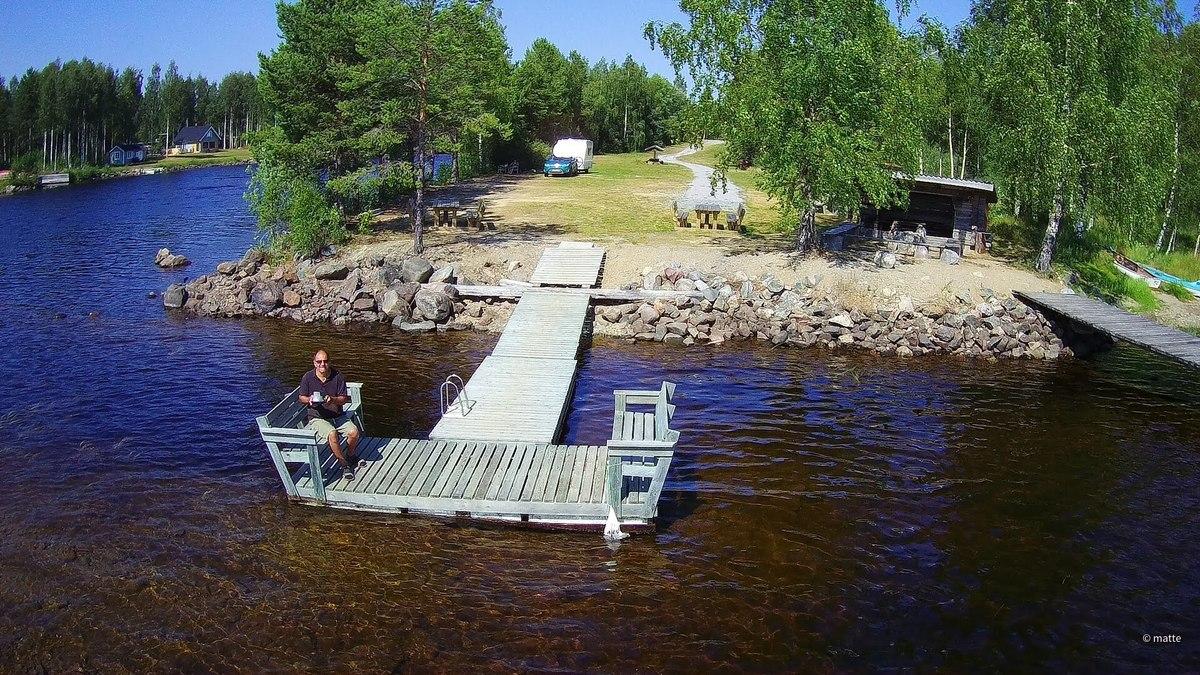 Naturcamping Ytterturingen / Schweden