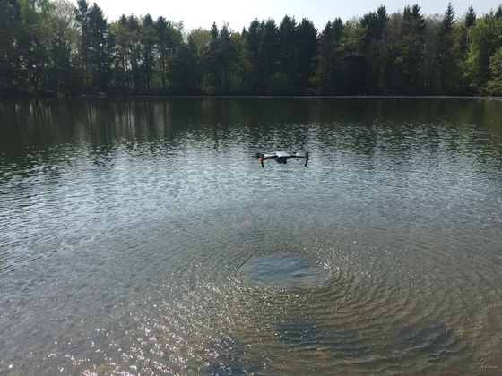 Kleiner See bei Kerken - Mavic Pro