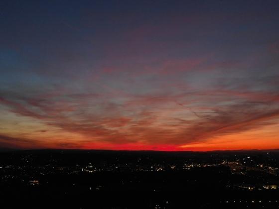 Sonnenuntergang über Basel (Mavic 2 Enterprise Dual) 5