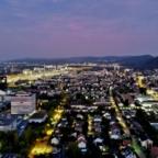 Sonnenuntergang über Basel (Mavic 2 Enterprise Dual) 2