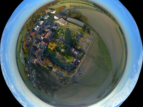 Mein Dorf von Oben