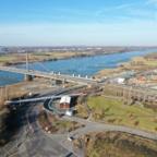 Rheibrücke in Leverkusen