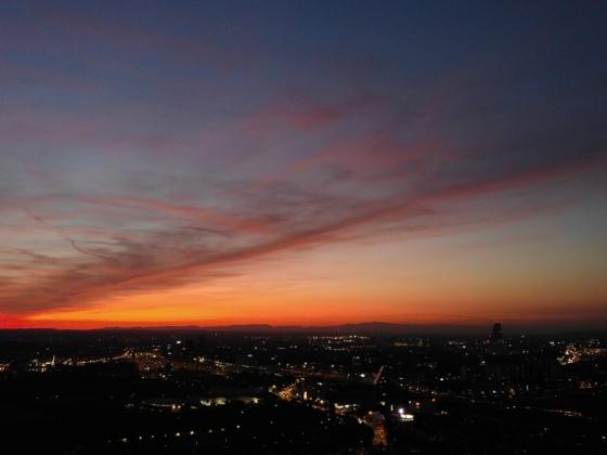 Sonnenuntergang über Basel (Mavic 2 Enterprise Dual) 4