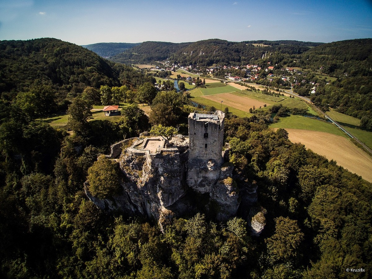Ruine Neideck in der Fränkischen Schweiz