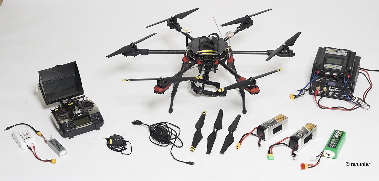 Verkaufe DJI Hexacopterfür VB 1000.-€